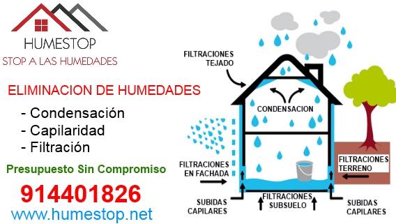 Eliminar humedad eliminacion de humedades humestop 944947496 - Eliminar humedad por condensacion ...